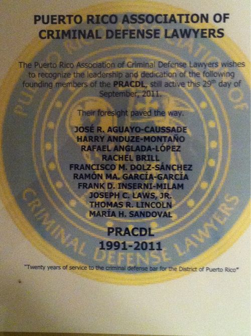 PRACDL Recognizes Active Charter Members
